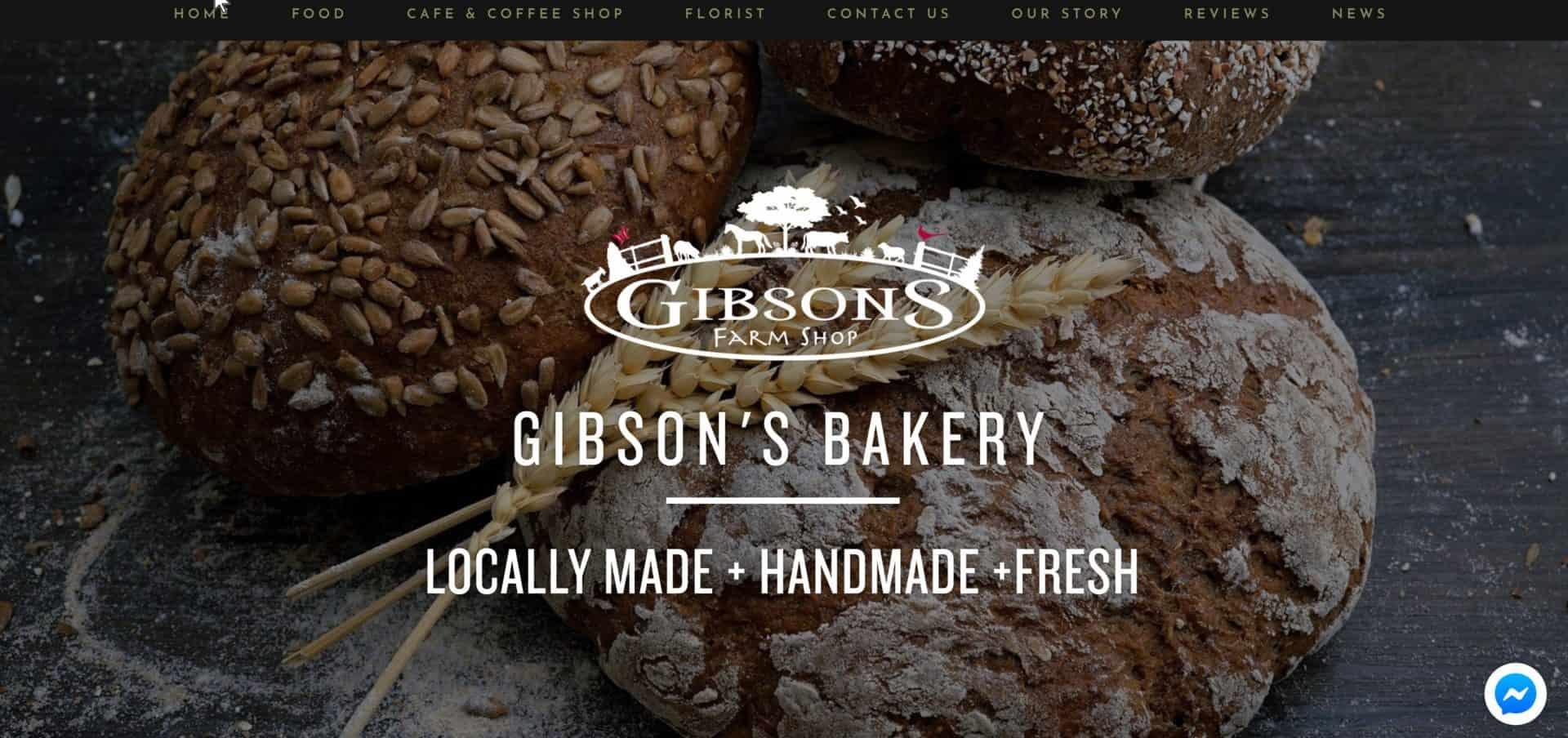 Bakery Website Design Idea by Blue Orbit Web Design