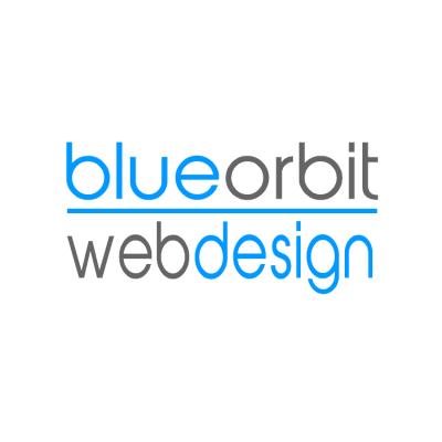 Blue Orbit Web Design Logo
